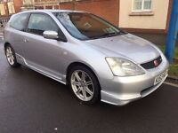 Honda Civic 2.0 i Type R 3dr new clutch just fitted well maintained clean car 2003 moted