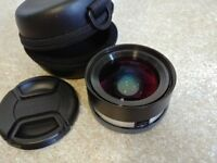 Sony VCL-ECU1 wide angle converter for sel16f28 and sel22f28 wide anle pancakes