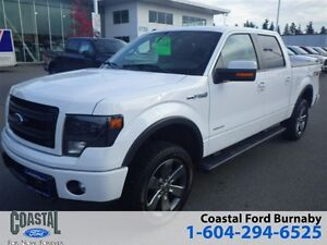 2014 Ford F-150 FX4 CrewCab 4X4 with Navigation and Heated Seats