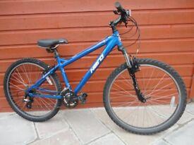 Haro flightline one mountain bike, 26 inch wheels, 21 gears, 16 inch lightweight frame
