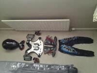 motocross kit age 6/7 approx