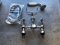 Bath shower mixer tap kit