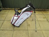 callaway hyperlite 2 stand bag with rain hood brand new with tags.