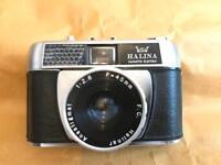 Halina Paulette electric film camera (35mm)