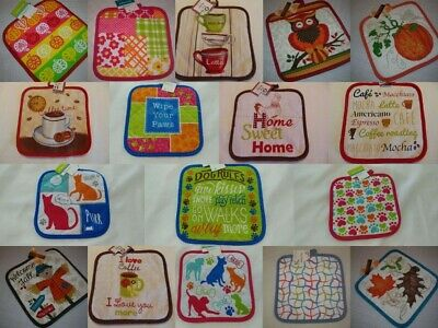 Hot pot holder Kitchen quilted Oven 8