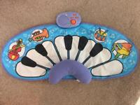 ELC Baby Percussion Mat Tummy Time Piano Keyboard