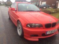 Bmw E46 323ci (2.5 straight 6) £1500!