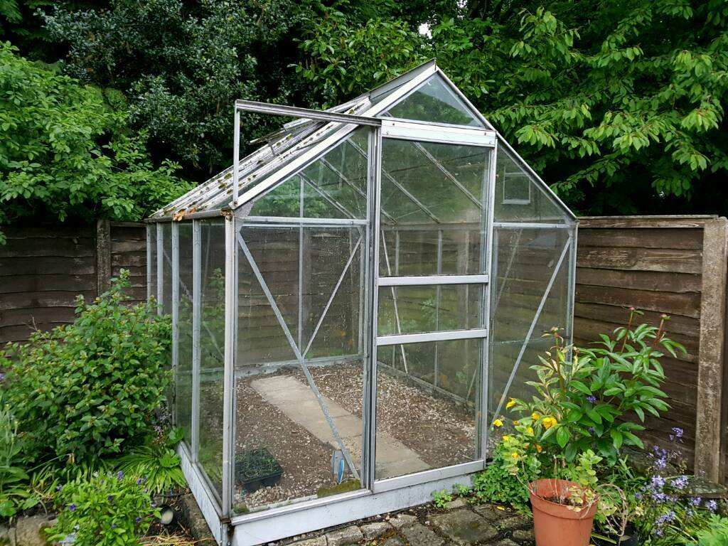 Greenhouse 8ft x 6ft SOLD