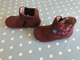 Baby girls start rite Chelsea boots . Size 5f
