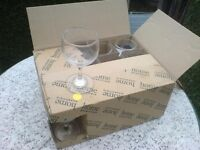 12 NEW WINE GLASSES