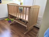 Mothercare Deluxe Baby Crib Cot