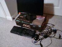 Aoc Monitor and Microsoft keyboard
