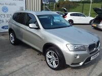 2011 BMW X3 Xdrive 20d SE Auto ( WARRANTY AND FINANCE AVAILABLE )