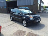 2008 58 FORD FUSION 1.6 PLUS AUTOMATIC 5 DOOR HATCHBACK,ONLY 73000 MILES WITH SERVICE HISTORY,