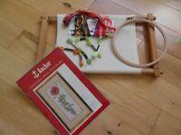 Needlework Frames and Threads