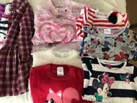 Girls 2-3 years 3-4 years large bundle inc coats.