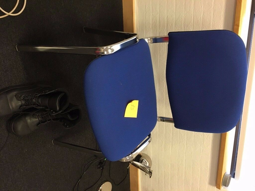 Blue office chair - FREE OF CHARGE