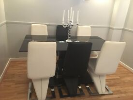 Selling Dining Table & Six Chairs
