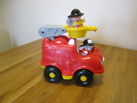 Fire Engine, Little People from Fisher Price