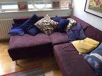 REDUCED Habitat Scala L shaped sofa