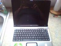 laptop hpdv2500 faulty