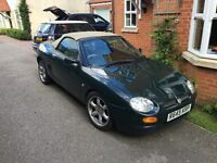 MGF Abingdon edition 1.8vvc 10 month MOT