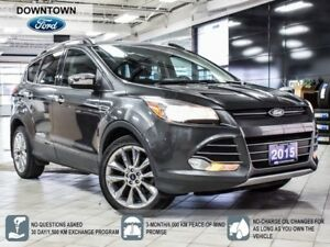 2015 Ford Escape SE, AWD, Chrome Pack, Navi, Tow Pack, Pwr seats