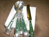 Attractive cutlery set, 6 places