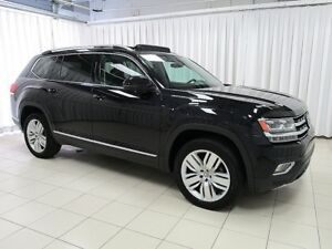 2018 Volkswagen Atlas EXECLINE 4MOTION AWD w/ REAR CAPTAIN'S SEA