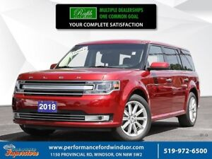 2018 Ford Flex Limited ***CAP UNIT, 2ND ROW FRIDGE, DVD***