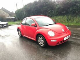 Vw beetle new mot low miles