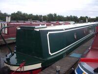 62 ft Narrow Boat