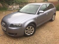 2006 AUTO DIESEL AUDI A3 2.0 TDI SE Sportback S Tronic 5dr FULL LEATHER SEATS