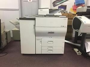 Ricoh MP C6502 Color Production Machines Copier Colour Printer Copy Machine Copiers Printers Photocopiers sale Toronto