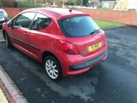 Peugeot 207 for sale BARGAIN - MAKE ME AN OFFER touchscreen aux and bluetooth