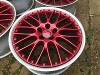 "Genuine 19"" Audi speedline split wheels 5x112"