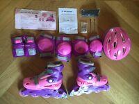 Dunlop Skate Set Pink: Size 1.5-4