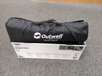 Brand new Outwell Whitecove 6 tent Flat Woven Carpet for camping approx 270 x 360 cm