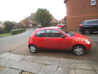 Ford ka 1.3 collection hatchback,y reg,94,000 miles,fsh,pas,c/locking,e/wind,cd,low tax/ins,45 mpg