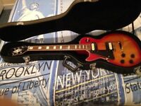 Left Handed Westfield Less Paul Guitar + Hard Case