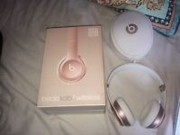 Solo 2 Wireless Beats - Rose Gold. Barely Used - £100