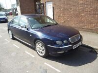 Rover 75 connoisseur cdt,4 door saloon,2 litre diesel,full leather interior,electric seats,alloys