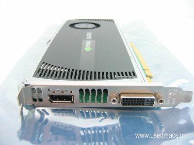 Apple Mac Pro CUDA Graphics NVIDIA Quadro 4000 2 GB GDDR5 Graphics Video Card for sale  Shipping to India