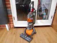 DYSON DC 24 YELLOW BALL EXCELLENT CONDITION AND STRONG SUCTION,UNIVERSAL TOOL