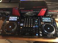 Pioneer CDJ 2000 NXS2 Pair + DJM 900 NXS2 Mixer - Mint Boxed Nexus 2 XDJ 1000 DDJ SZ