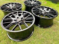 Wolfrace Munich alloy wheels 5x120 VW TRANSPORTER BMW ***FRESH REFURB***