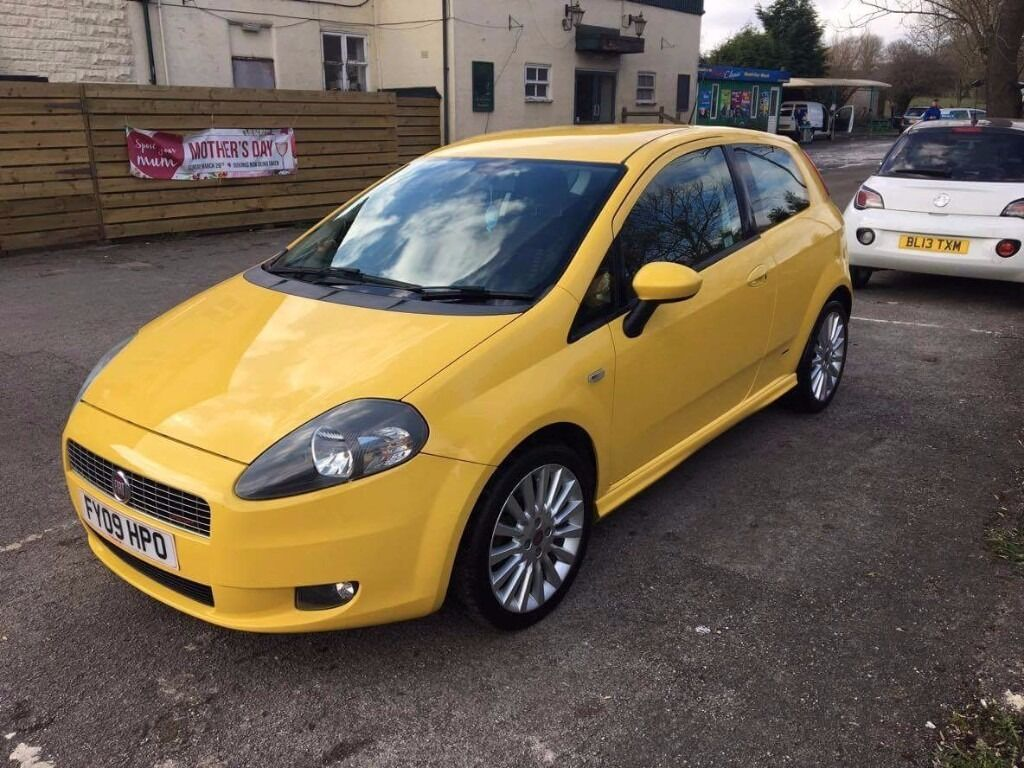 Yellow fiat punto | in North Wingfield, Derbyshire | Gumtree