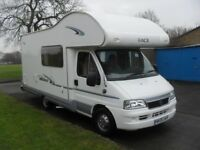 2006 2.3 jtd swift ace milano five berth motorhome