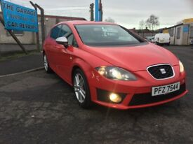 2012 SEAT LEON 2.0 TDI CR FR 140 BHP ANNUAL TAX RATE £115