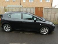 Black Seat Leon reference 1.6. MOT till May. 1 owner from new